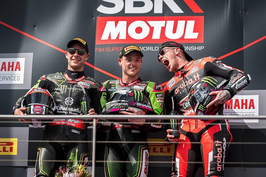 2020年WSBK開幕戦Ducati表彰台獲得!
